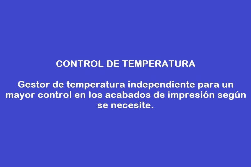 control de temperatura texto
